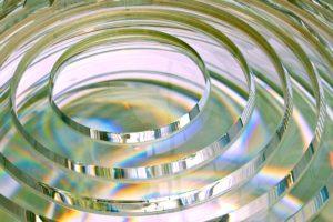 Optical glass finishing