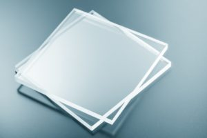 optical glass material removal  process